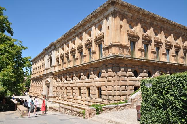 スペイン・アンダルシア州・グラナダ アルハンブラ宮殿 カルロス5世宮殿/Palacio de Carlos V