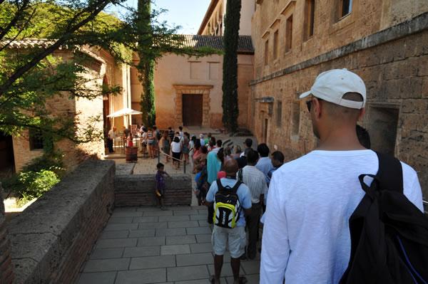 スペイン・アンダルシア州・グラナダ アルハンブラ宮殿 ナスル宮入り口