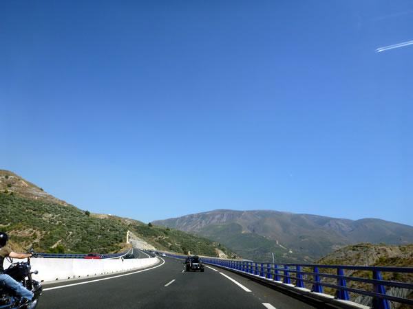 スペイン・グラナダ 高速A-7