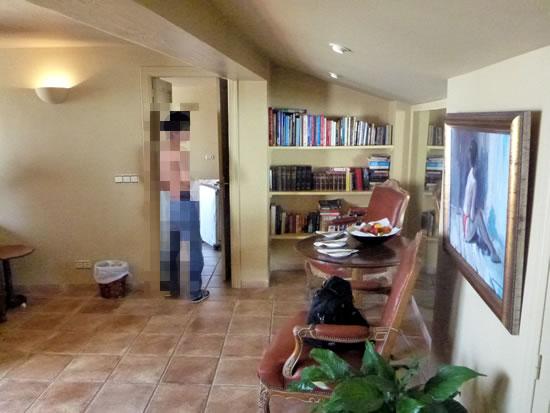 スペイン・アンダルシア州・ネルハ Hotel Carabeo & Restaurant 34 リビング