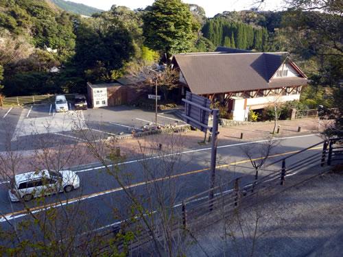 鹿児島 霧島温泉郷 霧島みやまホテル 窓からの眺め