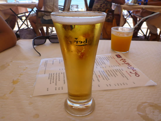 スペイン・ネルハ・ビーチ ビール!ビール!ビール!