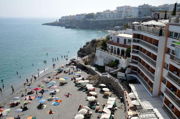 南スペイン ネルハ ヨーロッパのバルコニー Hotel Balcon de Europa
