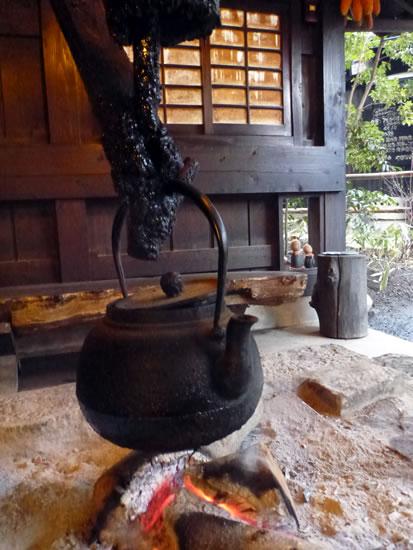 産山温泉 奥阿蘇の宿 やまなみ 囲炉裏