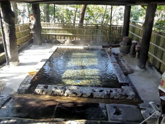 産山温泉 奥阿蘇の宿 やまなみ 四季の湯 露天風呂