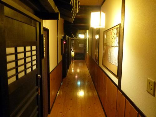 産山温泉 奥阿蘇の宿 やまなみ 廊下