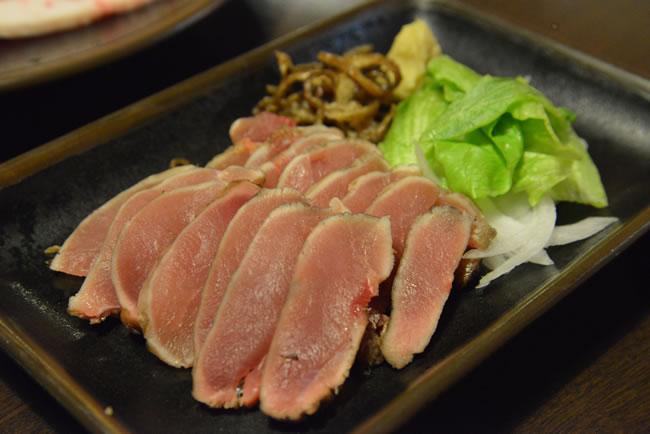 鹿児島県 霧島温泉 焼肉厨房 わきもと 地鶏の刺身