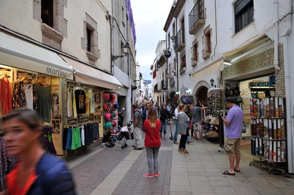 トッサデマール 市街地の風景