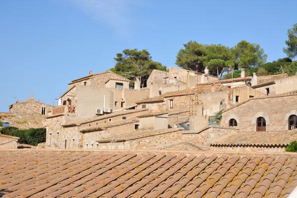 Castillo de Tossa de Mar お城の中