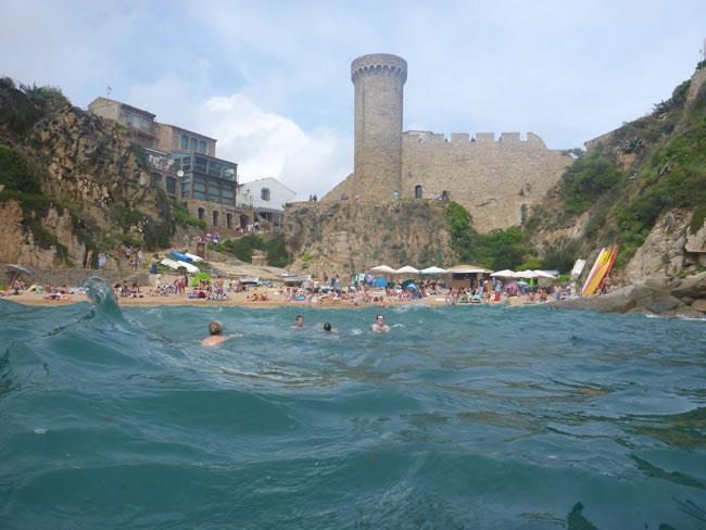 スペインの某ビーチ