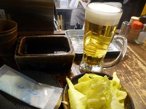 JR大阪駅 ぶらり横丁 七福神 串かつ