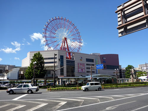 JR鹿児島駅前