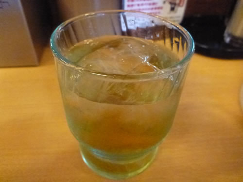 大分ラーメン 麺堂 香 高城店 麦茶