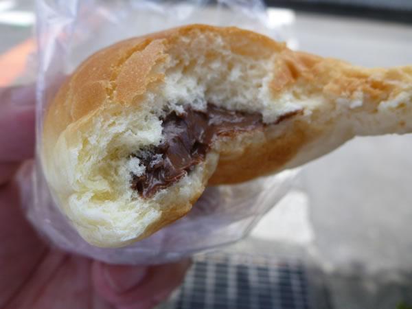 別府市 友永パン屋 チョコレートパン