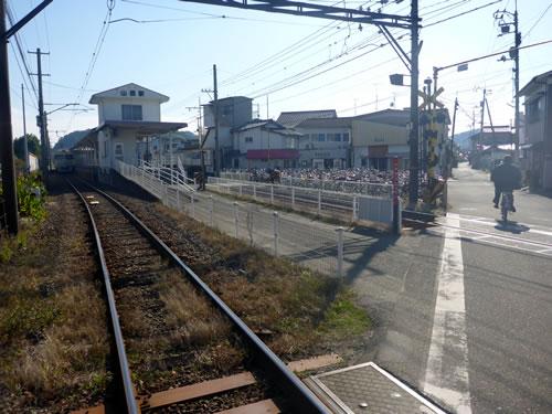 松山市 伊予鉄道高浜線 山西駅