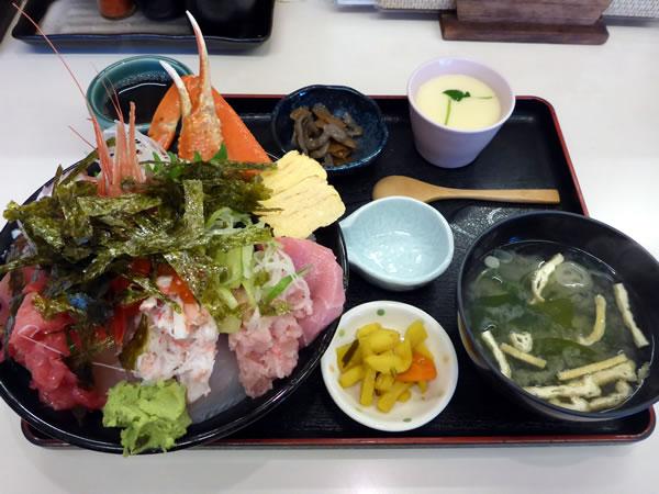 海鮮丼の「上」