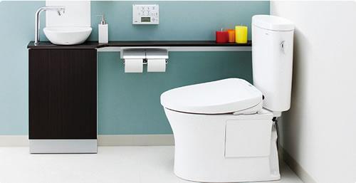 節水トイレ TOTO ピュアレストEX
