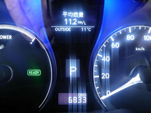 レクサス RX450h 平均燃費