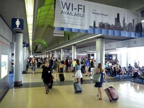 シカゴオヘア国際空港 ORD